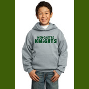 Newcastle Knights Straight Font Logo Hoodie